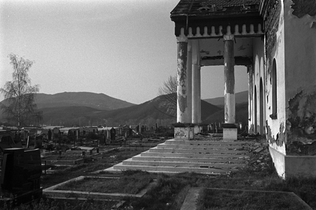 Serbian Graveyard. Kosovo. 2009.