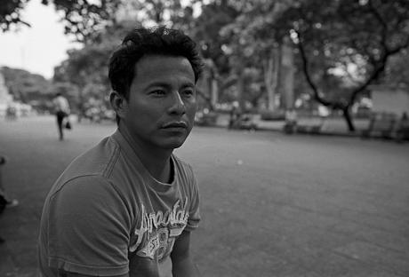 Gabriel in Guayaquil, Ecuador. 2011.
