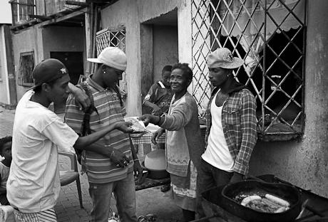 Street food in the barrio. Guayaquil, Ecuador. 2011.