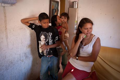 A family in Patacas, Aquiraz - CE, Brazil. 2008.