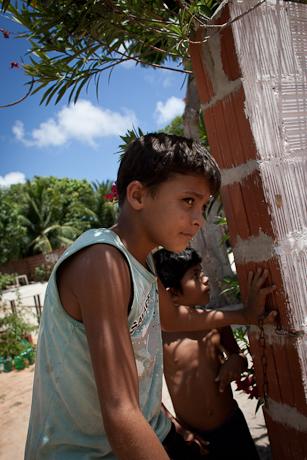 Boys in the rural areas. Patacas, Aquiraz - CE, Brazil. 2008.