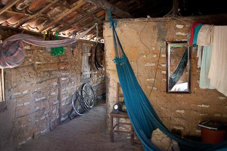 Inside a humble home. Patacas, Aquiraz - CE, Brazil. 2008.
