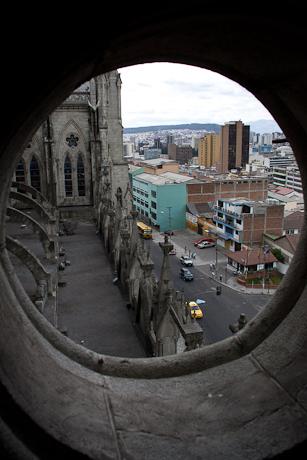 Basílica del Voto Nacional. Quito, Ecuador. 2006.