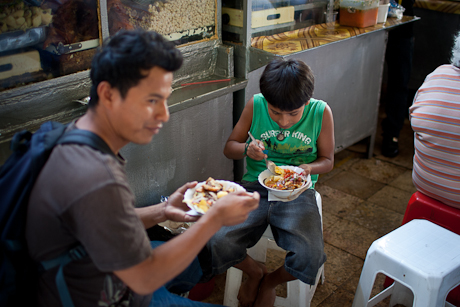 Lunch at the market. Guayaquil, Ecuador. 2011.
