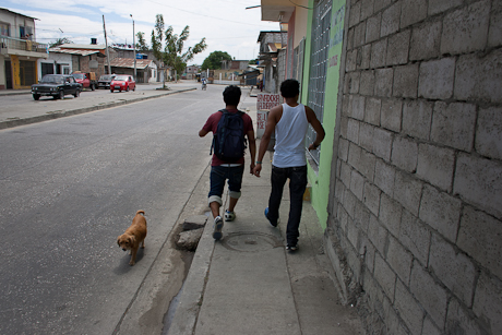 Heading to the market. Guayaquil, Ecuador. 2011.