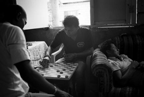 Checkers. Guayaquil, Ecuador. 2011.