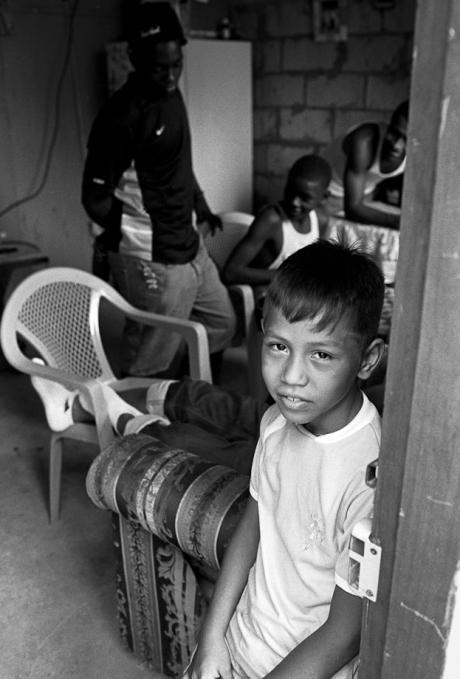 In the barrio. Guayaquil, Ecuador. 2011.