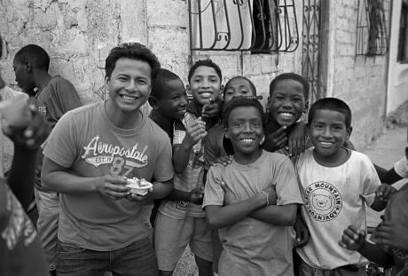 Boys in the street. Guayaquil, Ecuador. 2011.