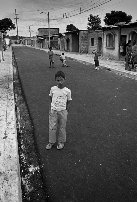 In the street. Guayaquil, Ecuador. 2011.