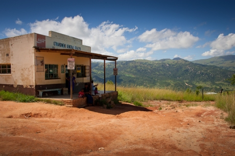 The roadside store. Swaziland. 2005.