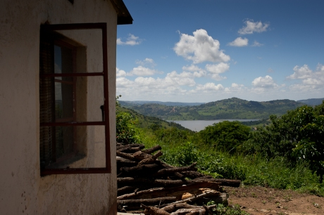 A beautiful view. Swaziland. 2005.