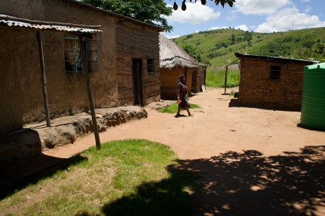 Small village. Swaziland. 2005.