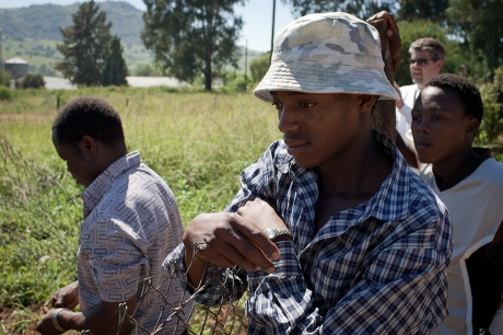 Our helpers. Swaziland. 2005.