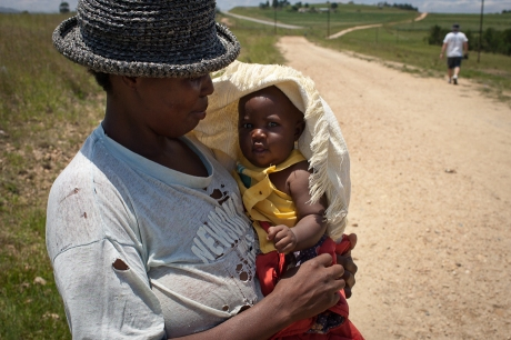 Woman and child. Swaziland. 2005.