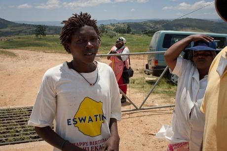 Our translator. Swaziland. 2005.