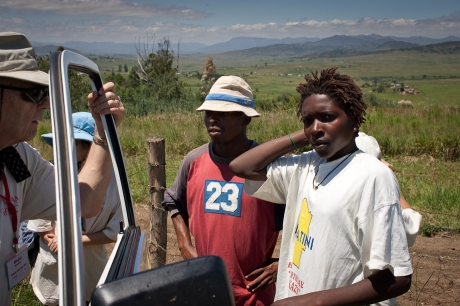 Our drivers and translators. Swaziland. 2005.