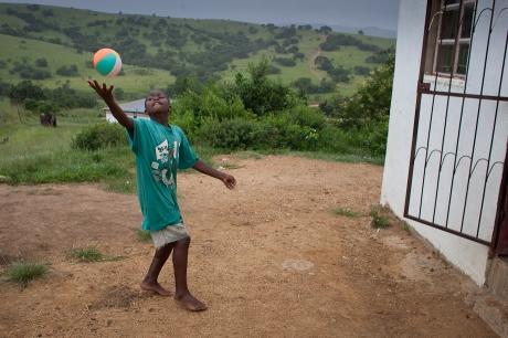A new ball. Swaziland. 2005.