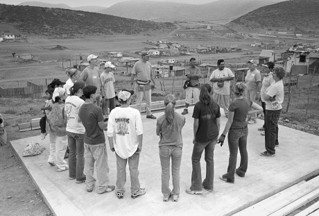 Prayer before start. Mexico. 2007.