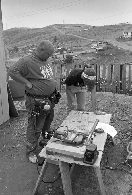 Construction site. Mexico. 2007.