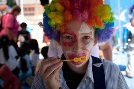 The clown. Mexico. 2005.