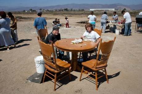 Lunch time. Mexico. 2007.